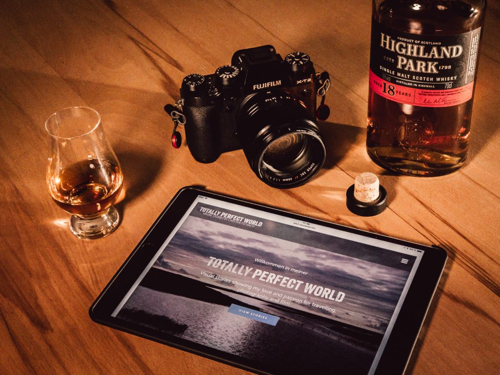 Websites and Whisky