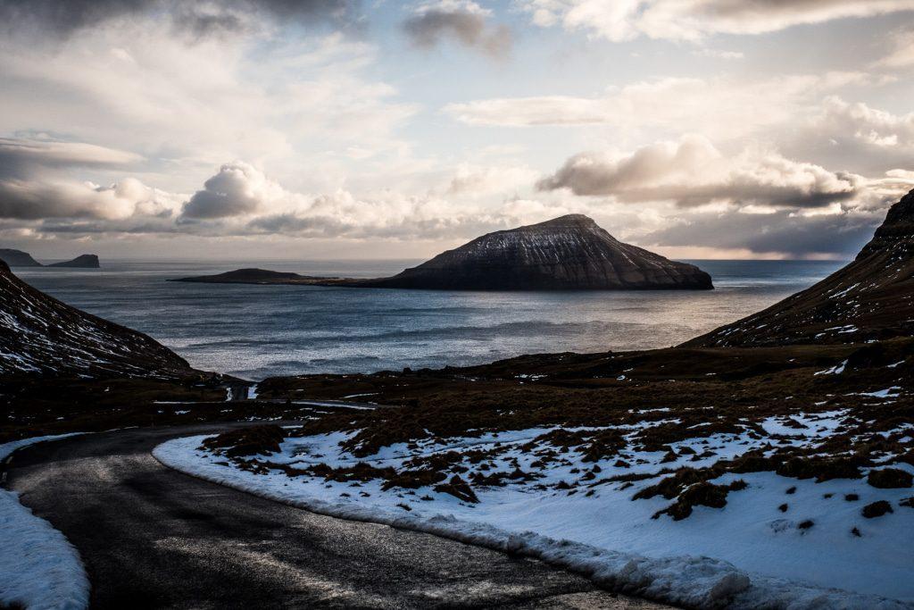Typical Faroe Island view in Eysturoy